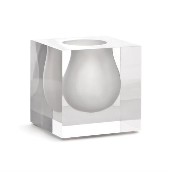 Bel Air Mini Scoop Vase - White
