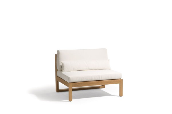 Siena Teak Lounge Large Middle Seat