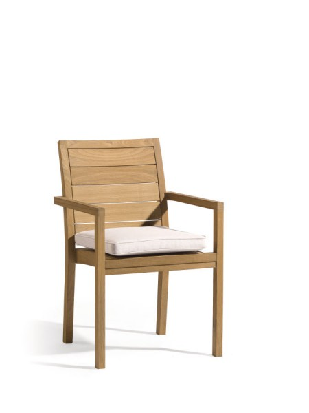Siena Square Teak Chair