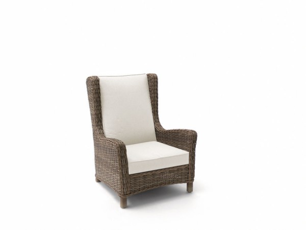 San Diego Cord Wing Chair
