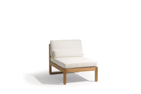 Siena Teak Lounge Small Middle Seat