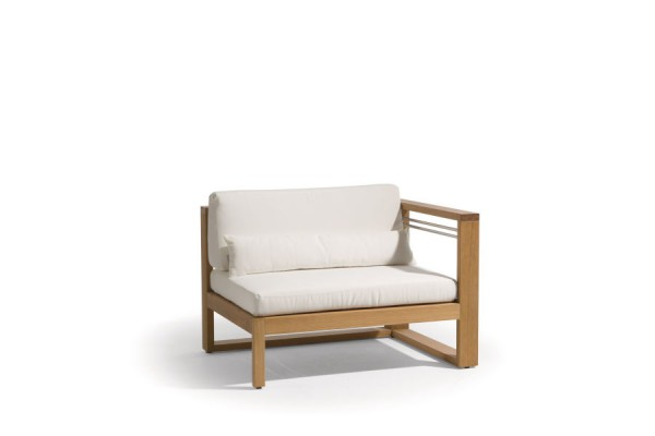 Siena Teak Lounge Left Seat