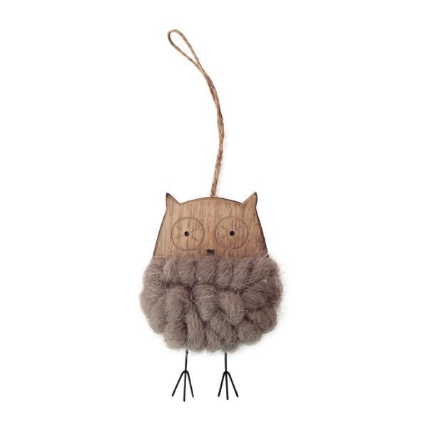 Hanging Owl Noel Brown