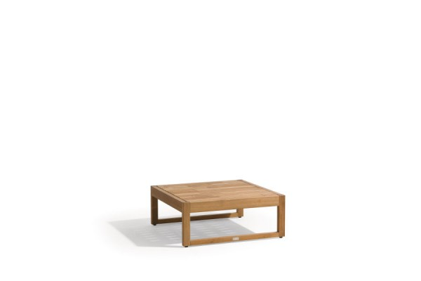 Siena Teak Lounge Medium Footstool/Sidetable