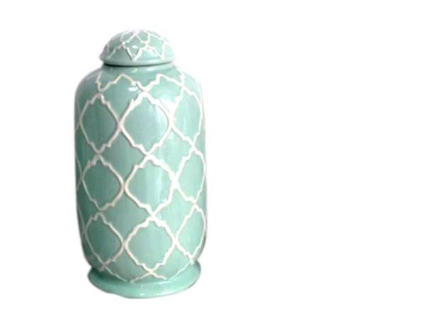 Vase MIAMI BEACH himmelblau LS
