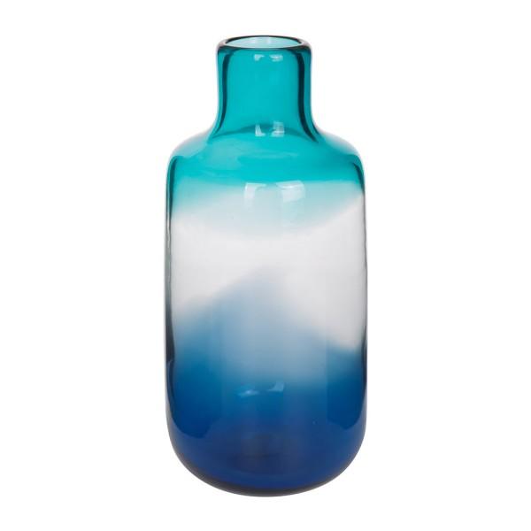 Pill glass Vase - blue
