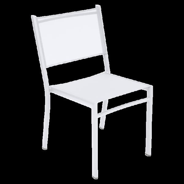 Costa Stuhl | Baumwollweiß