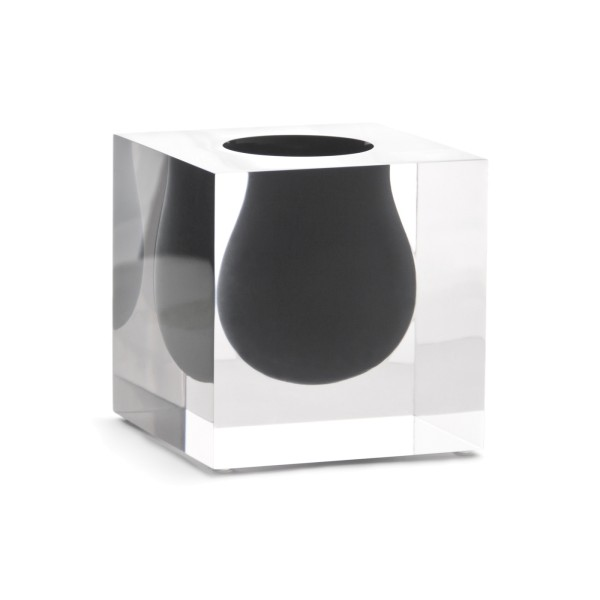 Bel Air Mini Scoop Vase Grey