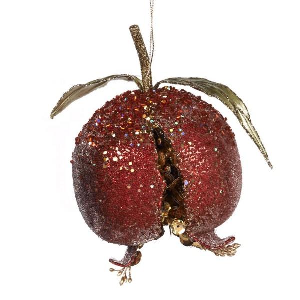 Weihnachtsschmuck Granatapfel