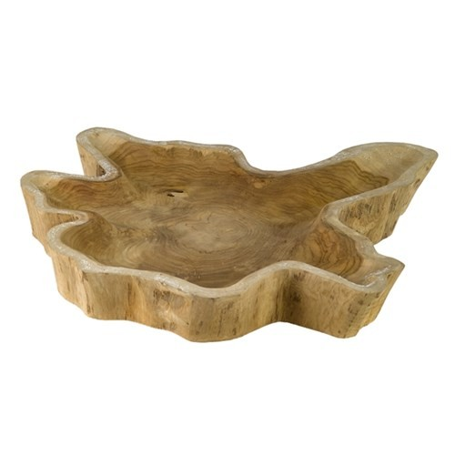 Bowl Teak Hollow Root