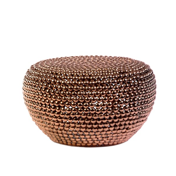 Dot Stool Copper low