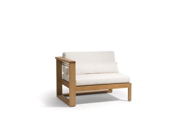 Siena Teak Lounge Right Seat