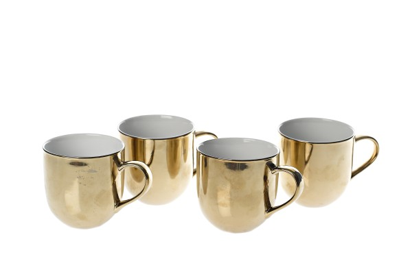 Mugs Gold Outside 4er Set