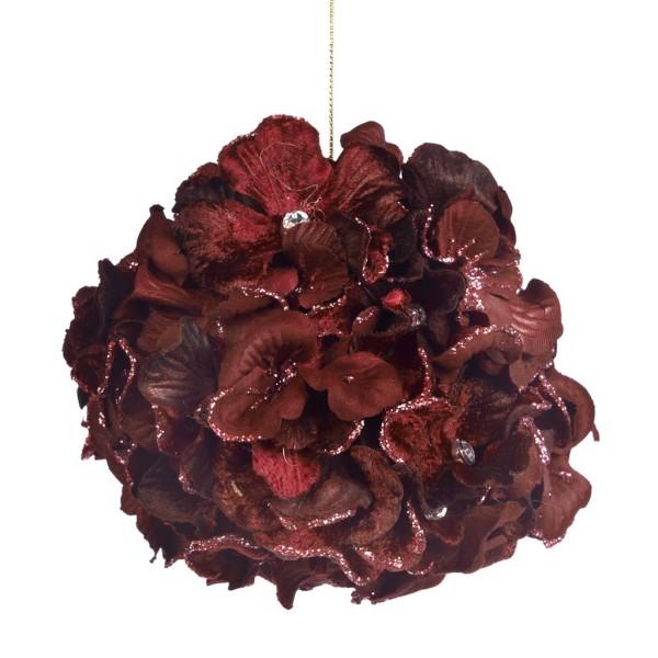 Weihnachtsschmuck Blumenball