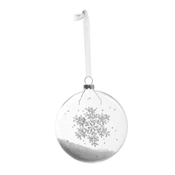 Hanging Snowflake Noel, weiß