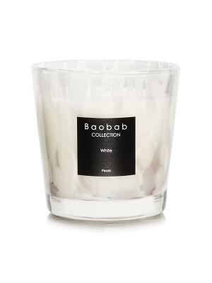 Baobab Duftkerze White Pearls Max One