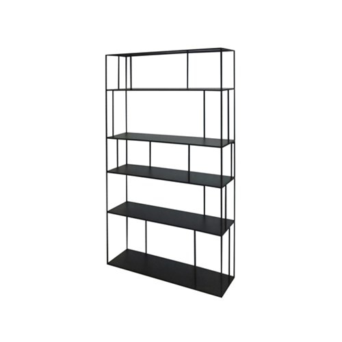 Shelf unit metall tall double