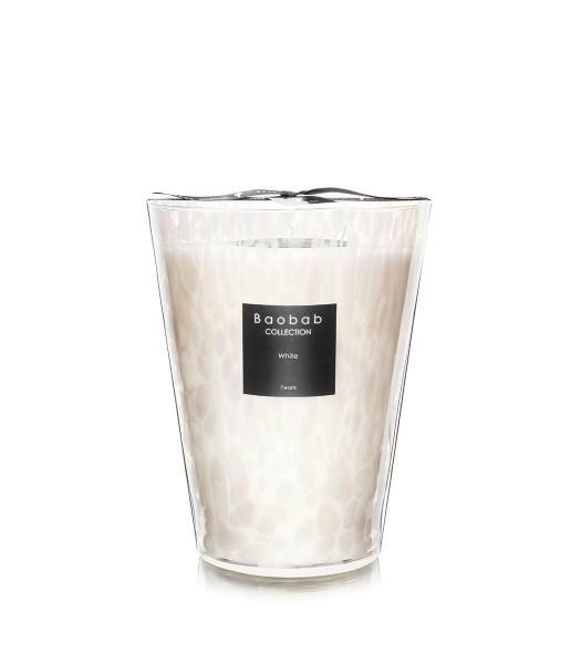 Baobab Duftkerze White Pearls Max 24