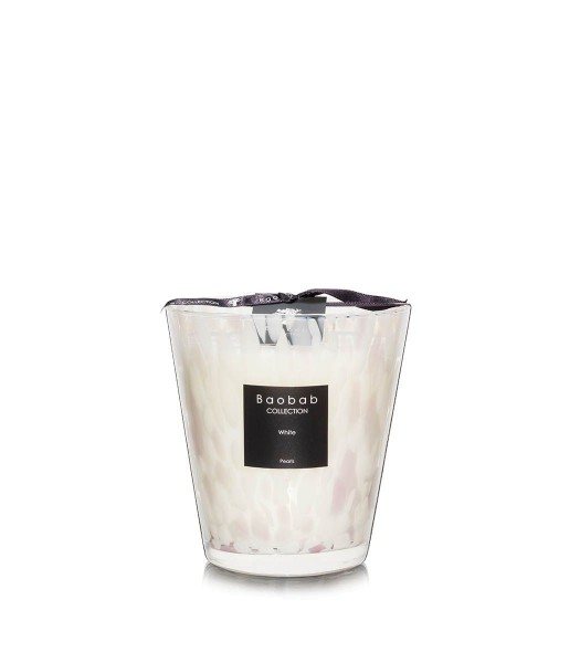 Baobab Duftkerze White Pearls Max 16