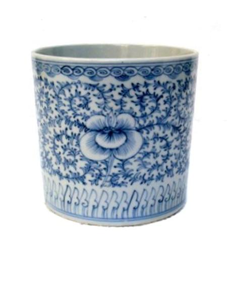Übertopf ORCHID BLUE WHITE S
