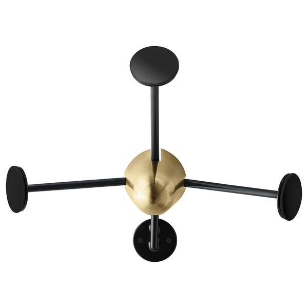 Gubi - Matégot Garderobenhaken  Black/Copper
