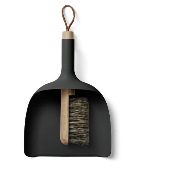 Kehrbesen-Set Sweeper & Funnerl schwarz