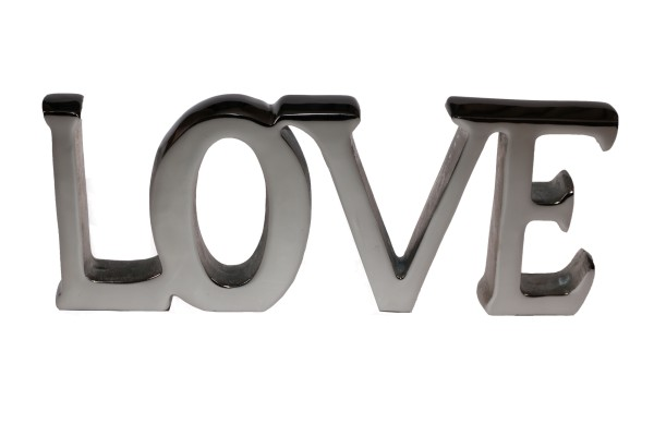 "Dekor ""LOVE"" Nickel"